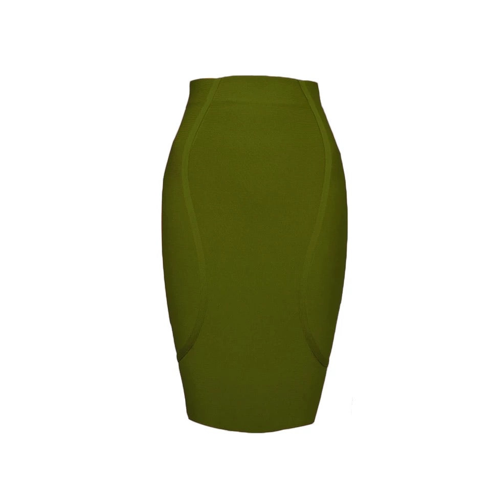 green skirt-NCFashions
