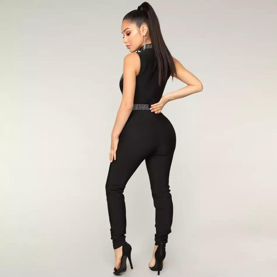 Black Skinny Jumpsuit-NCFashions-l