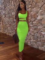 Green set women-NCfashions