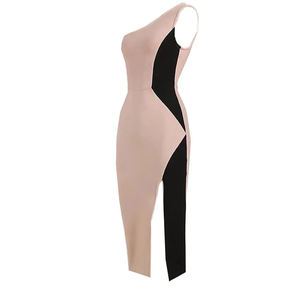 vintage bandage dress-NCfashions