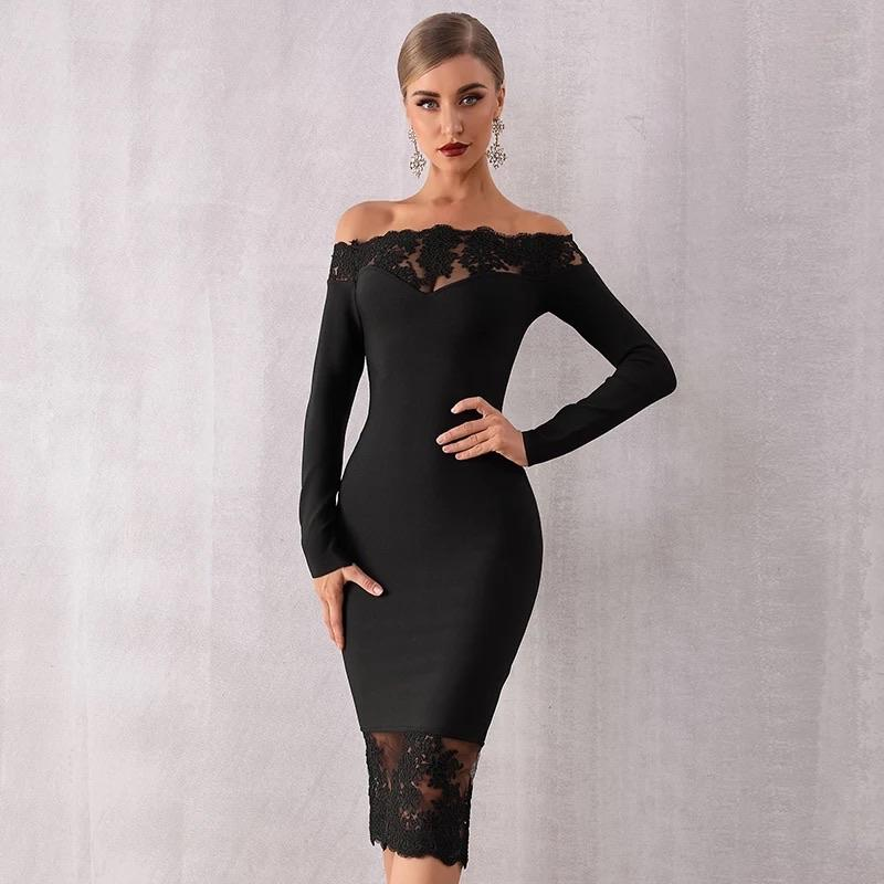 Sexy night out bandage dress -Ncfashions