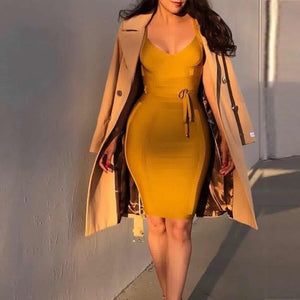 bodycon mini dress -NCFashions