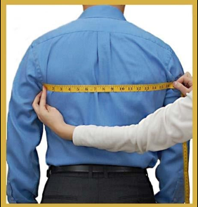 how to measure your back width