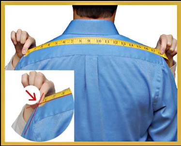 How to measure your full shoulder width