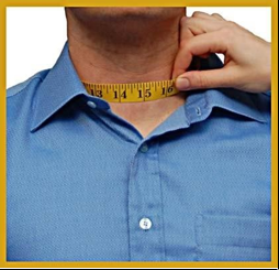 How to measure your neck
