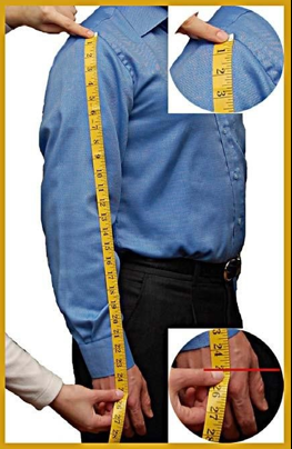 How to measure your right sleeve