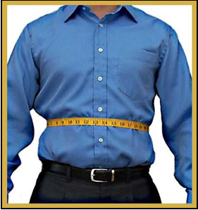 How to measure your waist/stomach