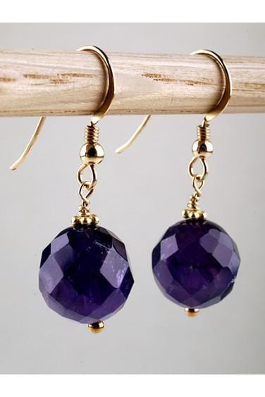 Amethyst Earrings - MINU Jewels