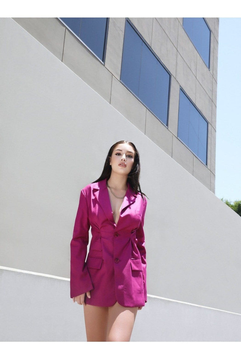 After Hours Boss Babe Blazer - Himelhoch's