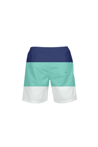 Men's Striped UPF 40+ Beach Shorts - Himelhoch's