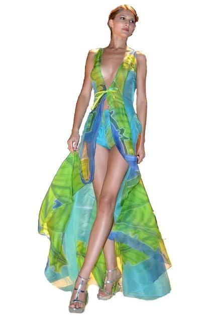 Heather Jones Fig Leaf Resort Dress - Himelhoch's
