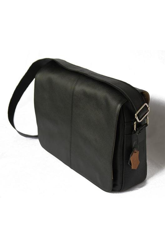 Vintage by MJ - Messenger Bag Men and Women Leather -Moroccan Leather - Handmade - Himelhoch's