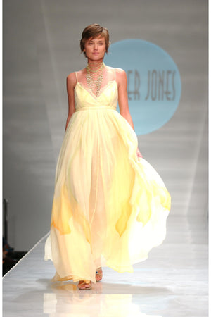 Heather Jones Custard orchids Dress - Himelhoch's