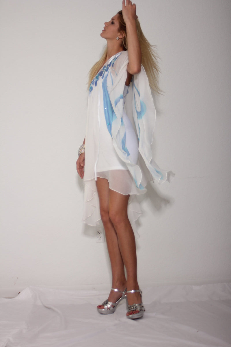Heather Jones PONCHO DRESS - Himelhoch's