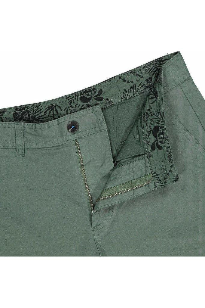 TURTLE Bermuda Shorts Duck Green - Himelhoch's