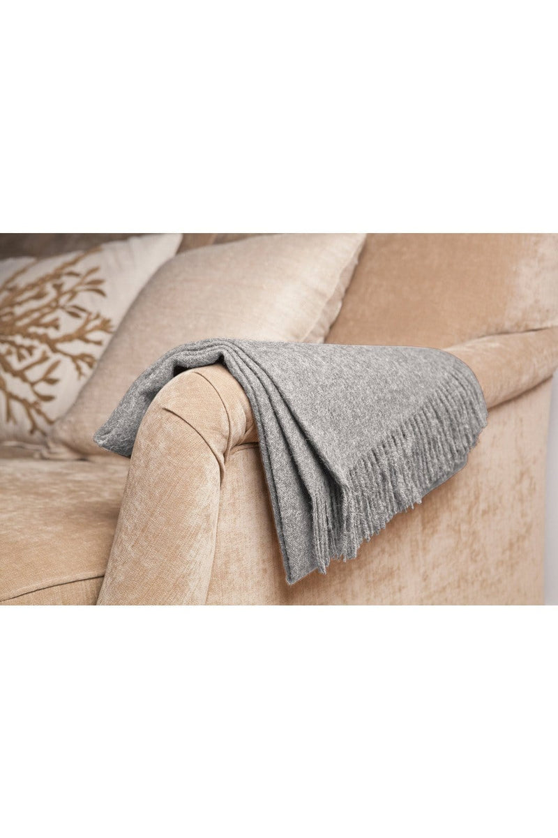 Stone Baby Alpaca Throw - Himelhoch's