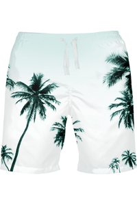 Men's Palm Tree Beach/Swim Shorts - Himelhoch's
