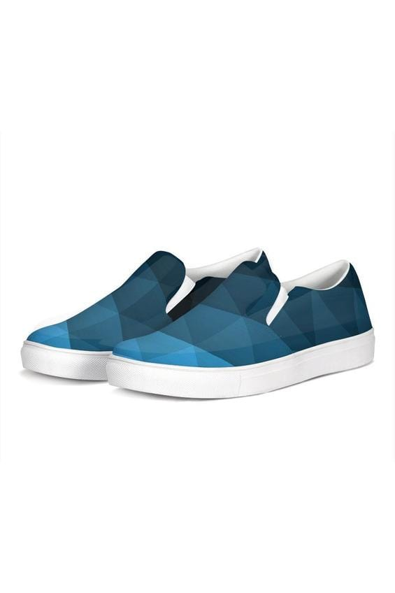 FYC Blue Fade Venturer Canvas Slip-On Casual Shoes