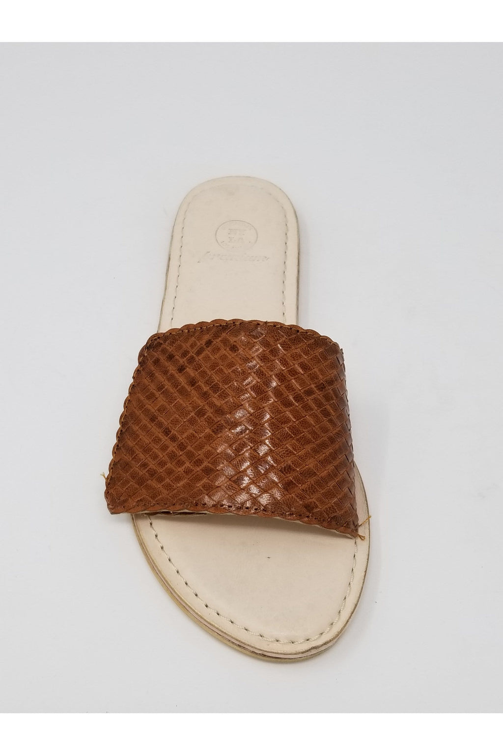 Leather Woven Sandal