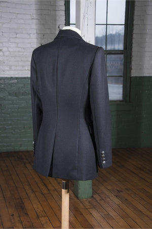 The Catherine Tailored Blazer (Black) - Himelhoch's