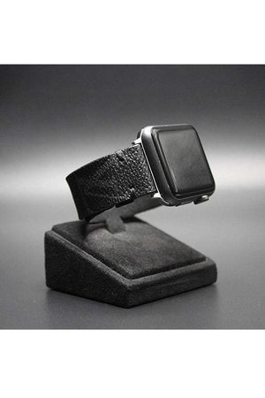 Apple Watch Band Classic LV Monogram Eclipse Graphite - Himelhoch's