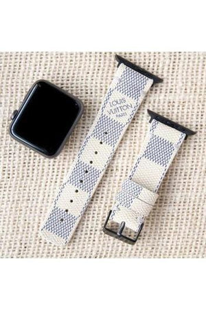 Apple Watch Band Damier LV Monogram Azur - Himelhoch's