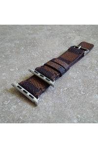 Apple Watch Band  Damier LV Monogram Brown - Himelhoch's