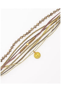 Bracelet multi-layered Gold - Himelhoch's