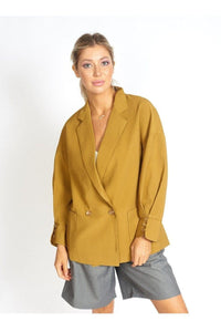 Lisa Business Casual Oversized Blazer - Himelhoch's