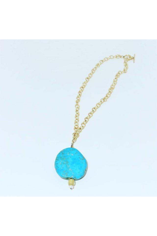 Turquoise Pendant Necklace - Himelhoch's