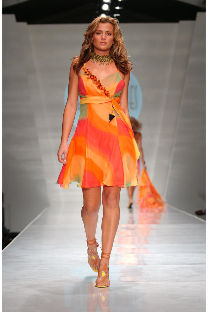 Heather Jones Sunset Mini dress - Himelhoch's