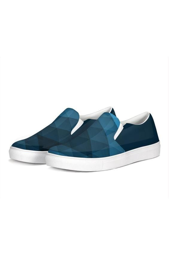 FYC Blue Venturer Canvas Slip-On Casual Shoes - Himelhoch's