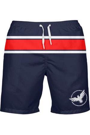 Men's FYC UPF 40+ Striped Beach Shorts - Himelhoch's