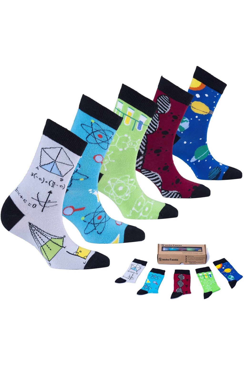 Women's Nerd Socks Set - Himelhoch's