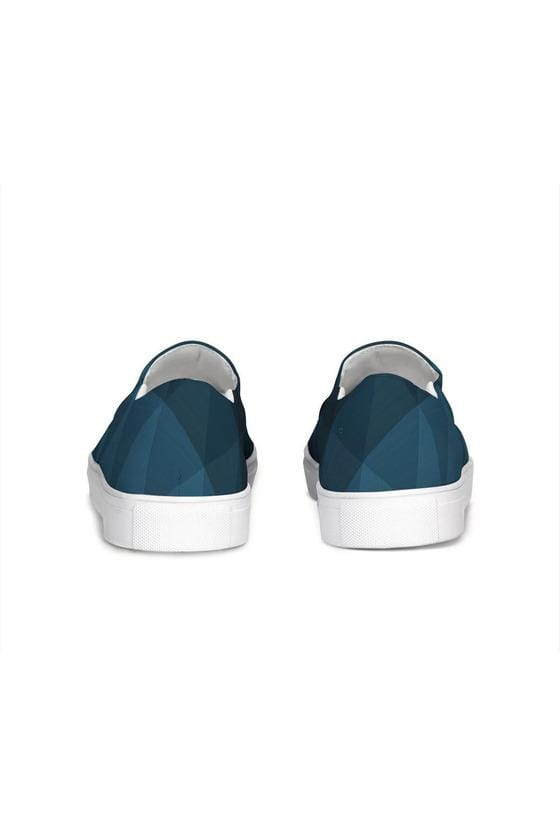 FYC Blue Fade Venturer Canvas Slip-On Casual Shoes - Himelhoch's