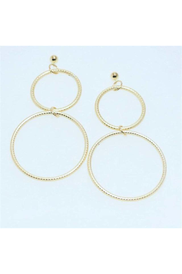 Gold Filled Double Circle Earrings - Himelhoch's