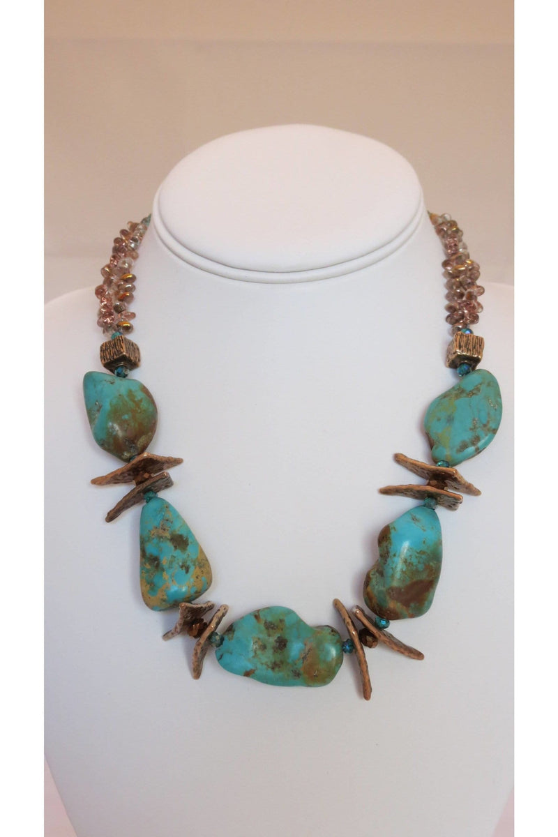 Earth and Sky Necklace - Himelhoch's