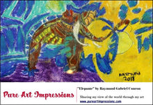 Load image into Gallery viewer, Elepante Postcard - Autism Art