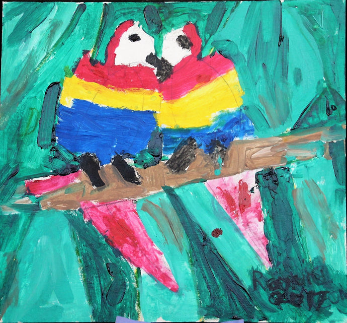 Toucan Love Birds - Autism Art