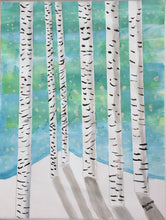 Load image into Gallery viewer, Birch Tree - Autism Art