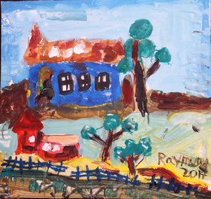 Country Home - Autism Art