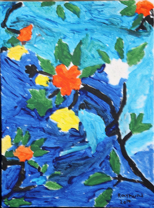 Flowers Bloom - Autism Art