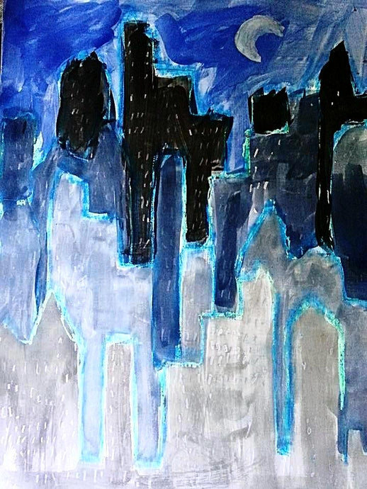 Skyscrapers - Autism Art