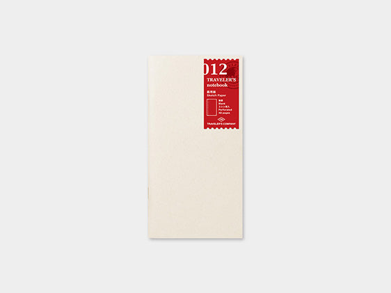 012. Sketch Paper Refill TRAVELER'S notebook