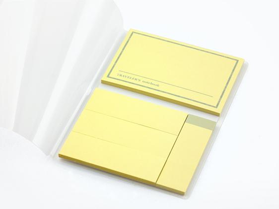 012. Sticky Notes TRAVELER'S notebook Passport Size