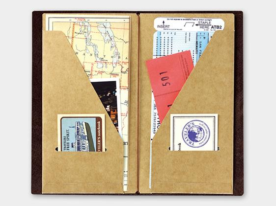 020. Kraft File TRAVELER'S notebook
