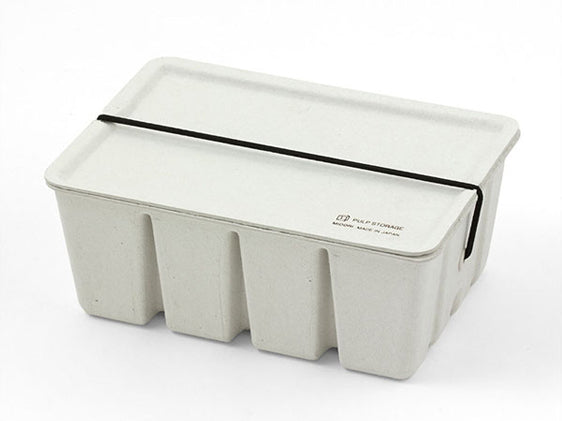 Pulp Card Box White