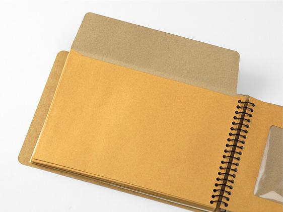 Window Envelope B6 Spiral Ring Notebook