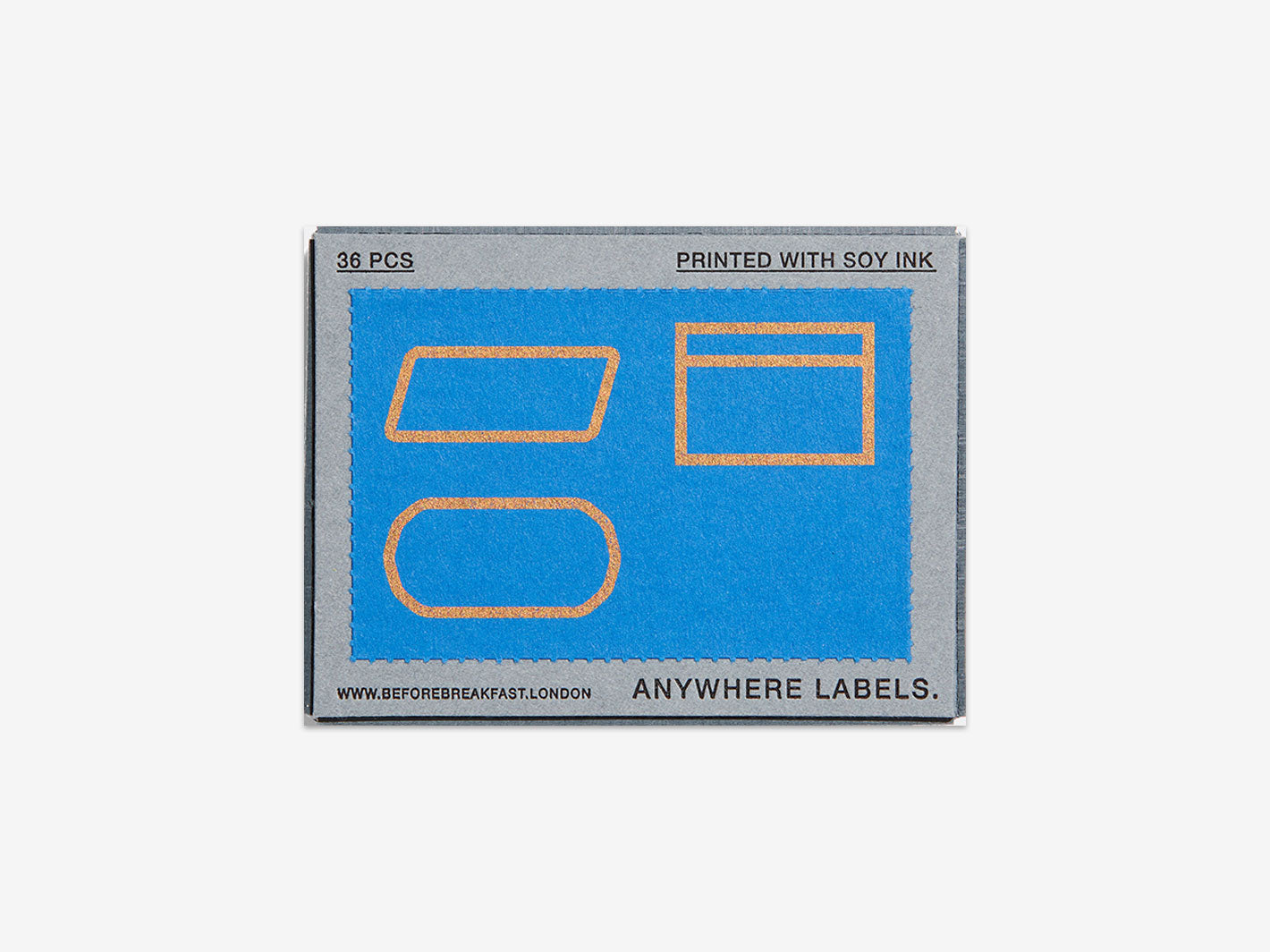 Anywhere Labels - Cobalt Blue