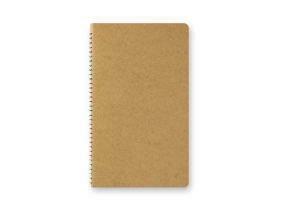 DW Kraft Paper A5 Slim Spiral Ring Notebook